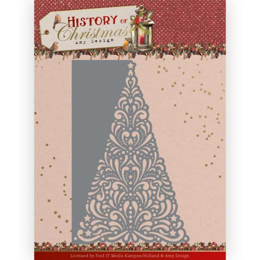 """AMY DESIGN DIE """"Lacy Christmas Tree"""""""