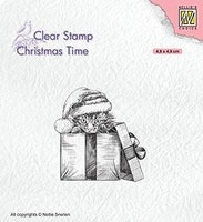 """NS Clearstamp """"Christmas Surprise"""""""