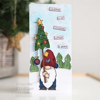 Woodware Clearstamp -Tall Tree Gnome