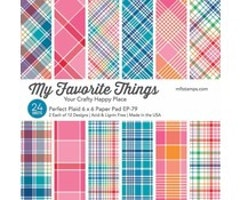 My Favorite Things Perfect Plaid 6x6 Inch Paper Pad