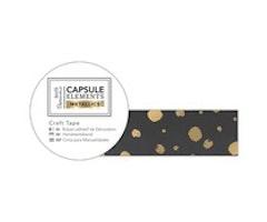 Papermania Washitape - Metallic Craft Tape Gold Spot 3m