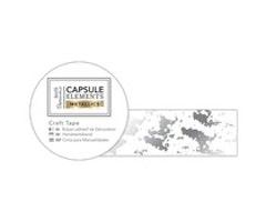 Papermania Washitape - Metallic Craft Tape Silver Texture 3m