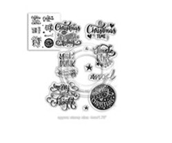 Polkadoodles Clear Stamps - Merry & Bright Christmas ...