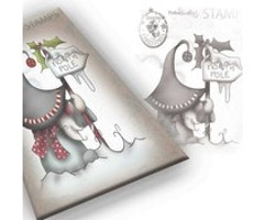 Polkadoodles Clear Stamps - Gnome North Pole Clear Stamp