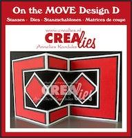 Crealies On The Move Design D CLMOVE05