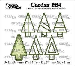 Crealies Cardzz Elements Trees