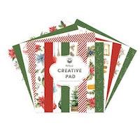 Piatek13 Creative Pad 12x12  - Cosy Winter Red and Green