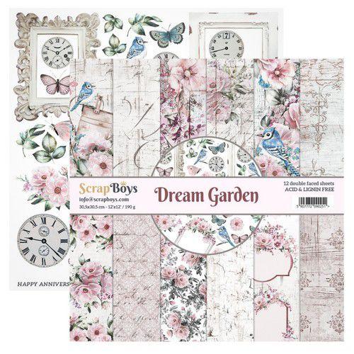 ScrapBoys Paperset 12x12 - Dream Garden