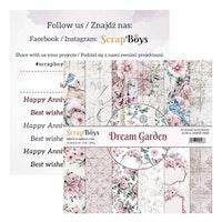 ScrapBoys - Dream Garden 6x6 paperpad
