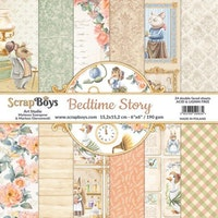 ScrapBoys 6x6 paperpad - Bedtime story