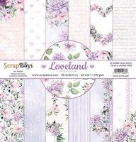 ScrapBoys Paperset 12x12 - Loveland new edition