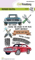 CraftEmotions clearstamps A6 - Cars