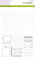 CraftEmotions clearstamps A5 - Bullet Journal - frames ...