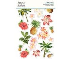 Simple Stories Sticker Book - Simple Vintage Coastal