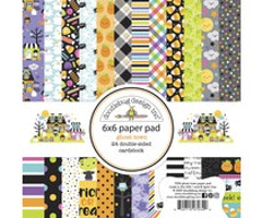 Doodlebug Design Paper Pad 6x6 - Ghost Town
