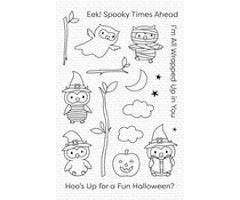 My Favorite Things - Halloween Hoo Clear Stamps