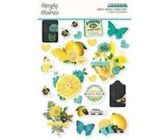 Simple Stories Sticker Book - Simple Vintage Lemon Twist