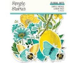 Simple Stories - Simple Vintage Lemon Twist Floral Bits
