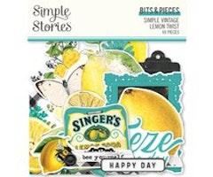 Simple Stories - Simple Vintage Lemon Twist Bits & Pieces