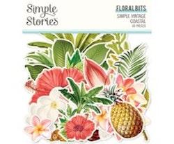 Simple Stories - Simple Vintage Coastal Floral Bits