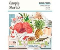 Simple Stories - Simple Vintage Coastal Bits & Pieces