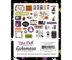 Echo Park Ephemera - I Love Halloween