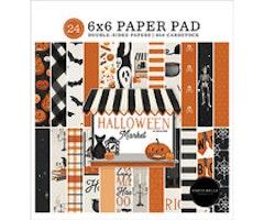 Carta Bella 6x6 Paper Pad - Halloween Market