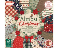 First Edition 6x6 Paper Pad - Almost Christmas