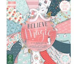 First Edition 8x8  Paper Pad  - Believe in Magic