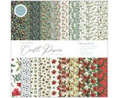 Craft Consortium 12x12 Paper Pad -  Festive Flora