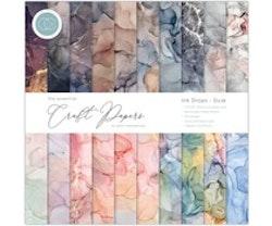 Craft Consortium 12x12 Paper Pad - Ink Drops Dusk