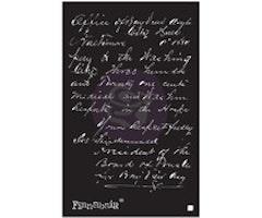 Finnabair Read My Letter 6x9 Inch Stencil