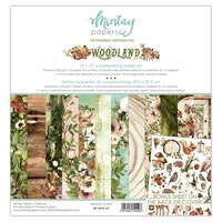 Mintay Papers - 12 X 12 PAPER SET - WOODLAND