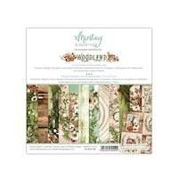Mintay Papers - 6 X 6 PAPER PAD - WOODLAND