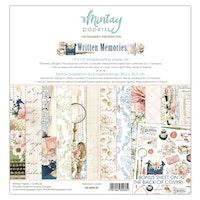 Mintay Papers - 12 X 12 PAPER SET - WRITTEN MEMORIES