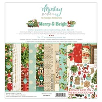 Mintay Papers - 12 X 12 PAPER SET - MERRY & BRIGHT