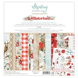 Mintay Papers - 12 X 12 PAPER SET - WINTERLAND