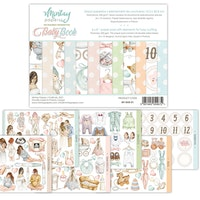 Mintay Papers - 6 X 8 BABY BOOK - ELEMENTS FOR PRECISE ...