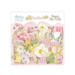 Mintay Papers - PAPER DIE-CUTS - VACATION, 55 PCS
