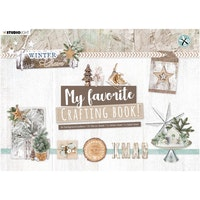Studio Light - My favorite crafting book Winter charm ...