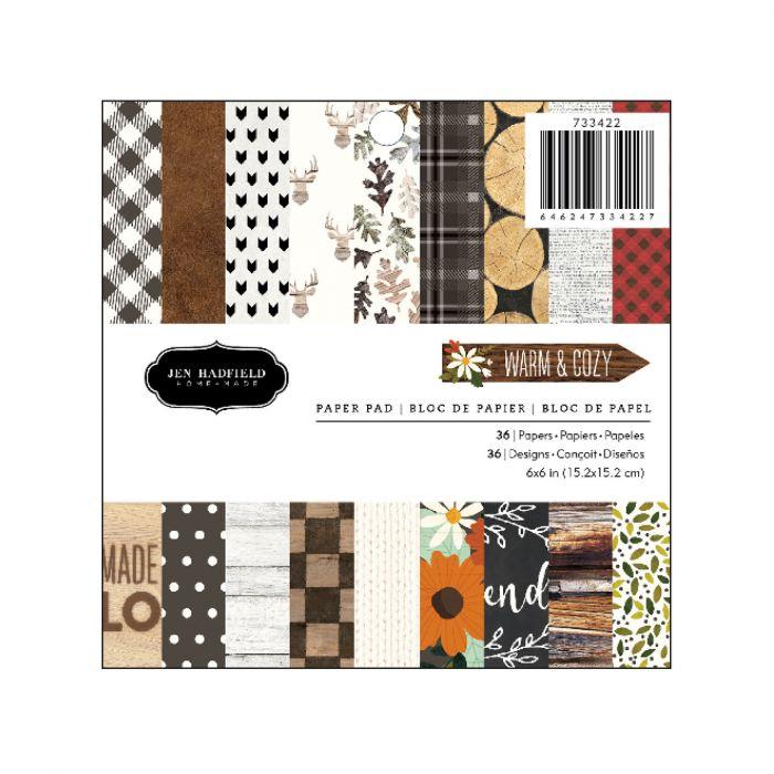 American Crafts - Warm & Cosy paper pad 6x6 inch