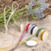 Organza ribbon 6 Colors 6mmx2m Xmas
