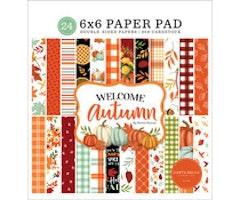 Carta Bella 6x6 paper pad -  Welcome Autumn