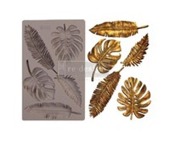 Re-Design with Prima Monstera 5x8 Inch Moulds
