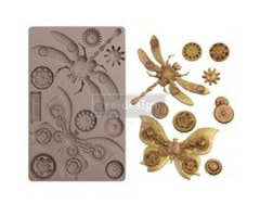 Re-Design with Prima Mechanical Insectica 5x8 Inch Mould