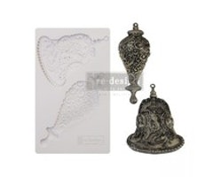 Re-Design with Prima Silver Bells 5x8 Inch Mould