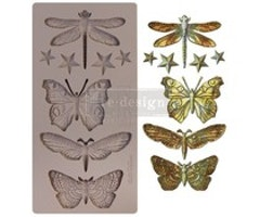 Re-Design with Prima Insecta & Stars 5x10 Inch Mould