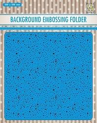 NS Embossingfolder 15x15cm - Dots
