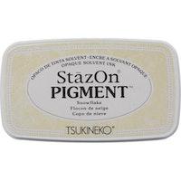 StazOn Pigment inkpad - Snowflake