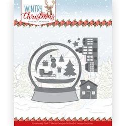 YVONNE DESIGN DIE - Snowman in Snow Globe